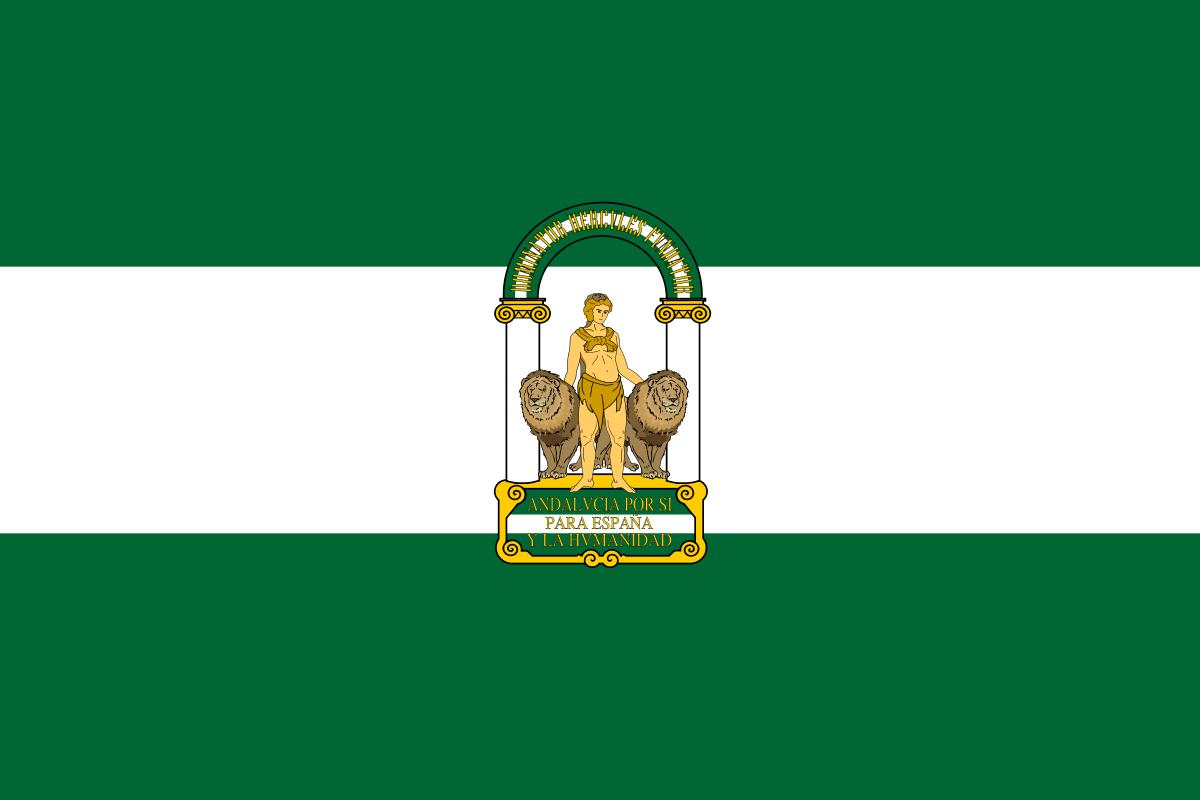 Bandera de Andalucia | Andalucia | Pinterest | Bandera de andalucia ...
