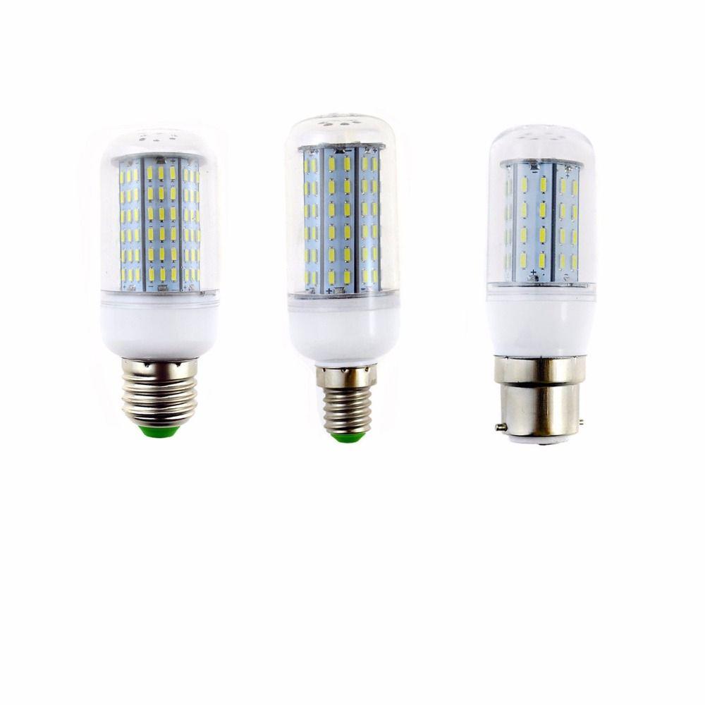 $1.64 (Buy here: http://appdeal.ru/3o3z ) LED Corn Light SMD 4014 E27 E14 B22 12W 18W 25W 30W 35W 36/56/72/96 Leds Lamp Cool Warm White AC 110V 220V Ceiling Lights Spot for just $1.64