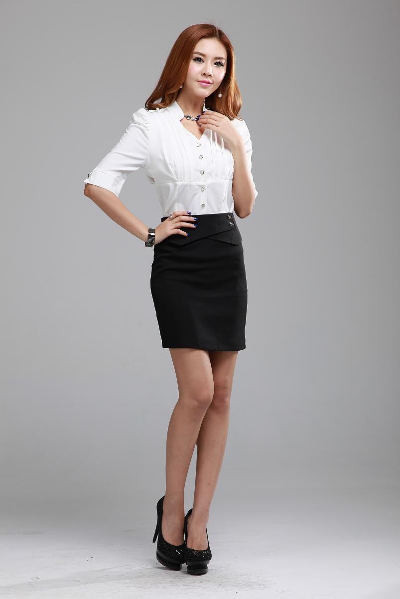 Short Skirt Business Suit