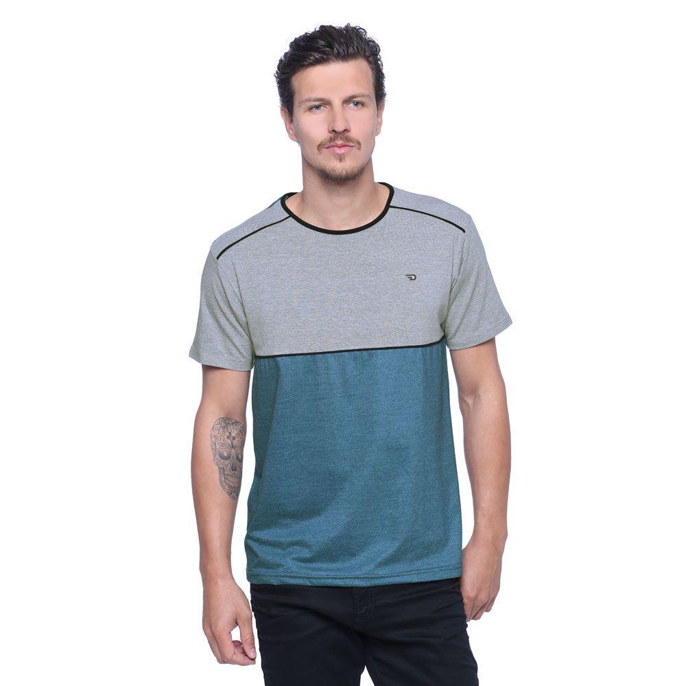 8101b7ebe0f2 Camiseta Masculina Detalhe Viés - Damyller Camisetas Masculinas, Lojas  Online, Masculino, Camisas,
