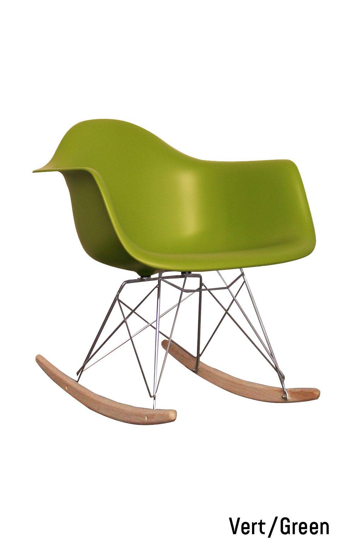 fauteuil bascule rar vert naturel green natural pinterest natural. Black Bedroom Furniture Sets. Home Design Ideas