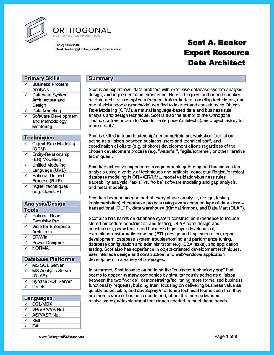 Business Intelligence Specialist Sample Resume Stunning Do You Think Getting The Business Analyst Job Is Easy Getting That .