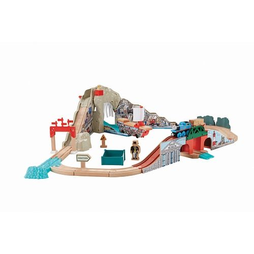 Fisher-Price Thomas & Friends - Wooden Railway Pirate Cove Discovery ...