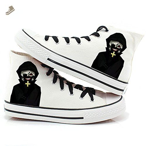 776d707c9b1ed Tokyo Ghoul Anime Kaneki Ken Cosplay Shoes Canvas Shoes Sneakers 2 ...