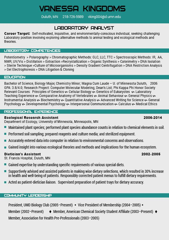 Resume Builder Professional 2015 - http\/\/wwwresumecareerinfo - student lab assistant sample resume