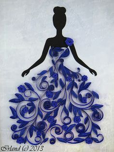 WOW This Is A Really Great Use For Quilling And Stunning Handmade Design Idea