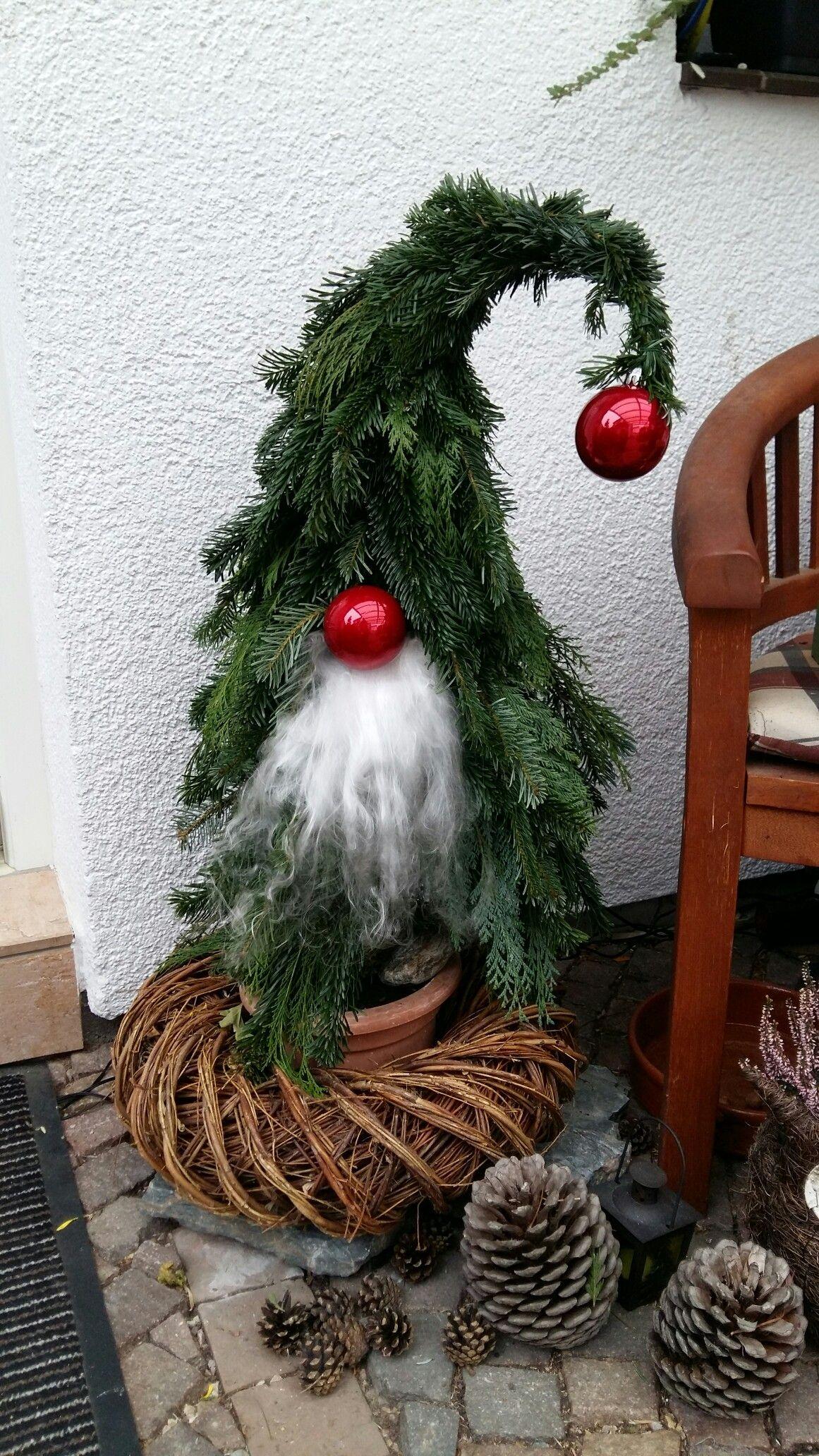 Tannenwichtel bibi 39 s selber gebastelten sachen for Weihnachtsideen dekoration