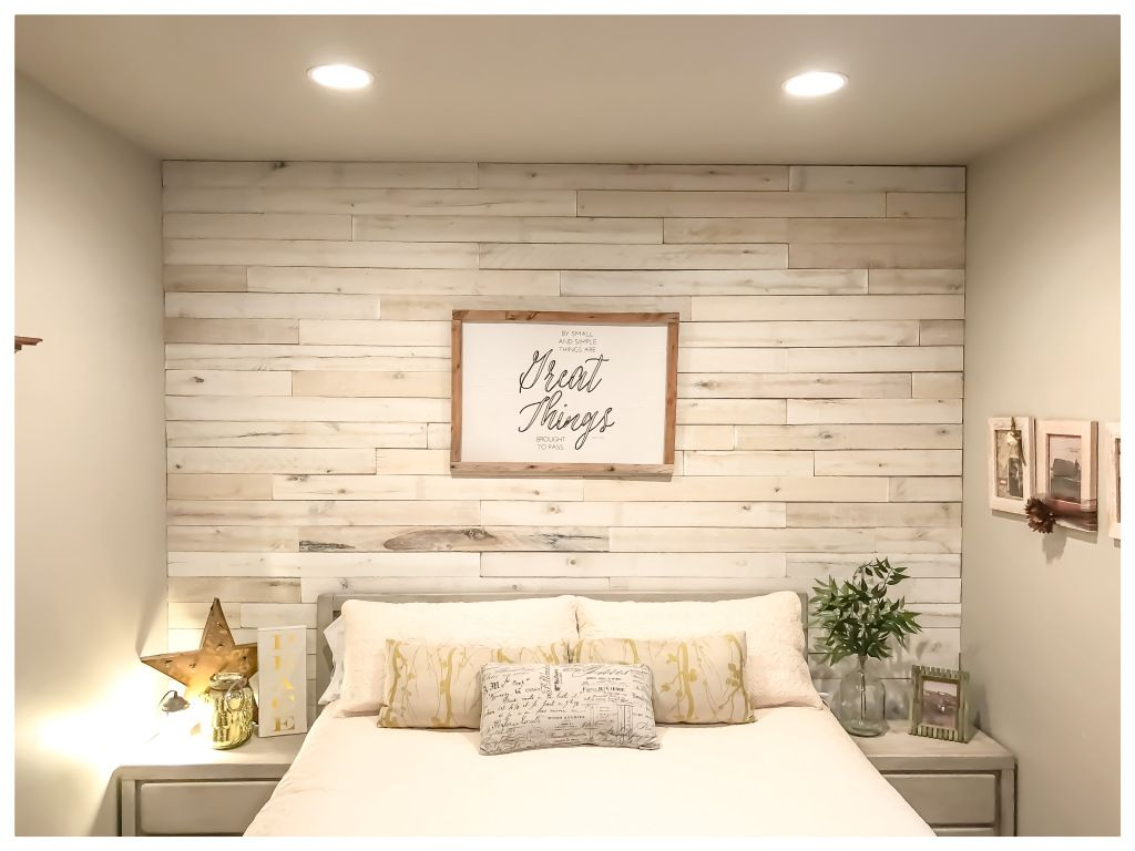 Do It Yourself Wood Wall With Images Feature Wall Bedroom