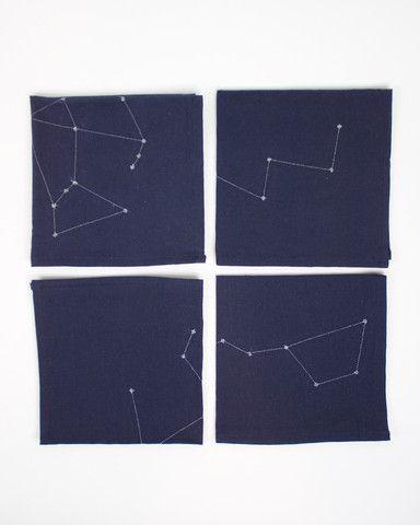 Constellation Napkin Set - magpieandrye