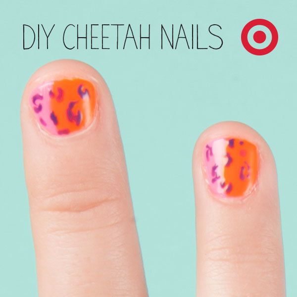 Take inspiration from the animal world for some back to school nail ...