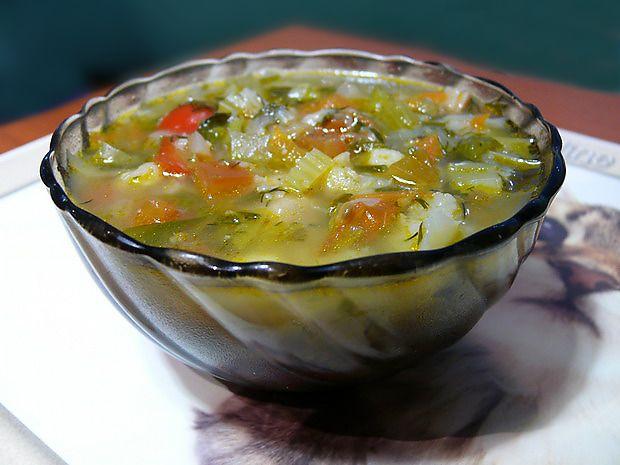 Овощной суп с кабачками   Суп из сельдерея, Здоровое ...