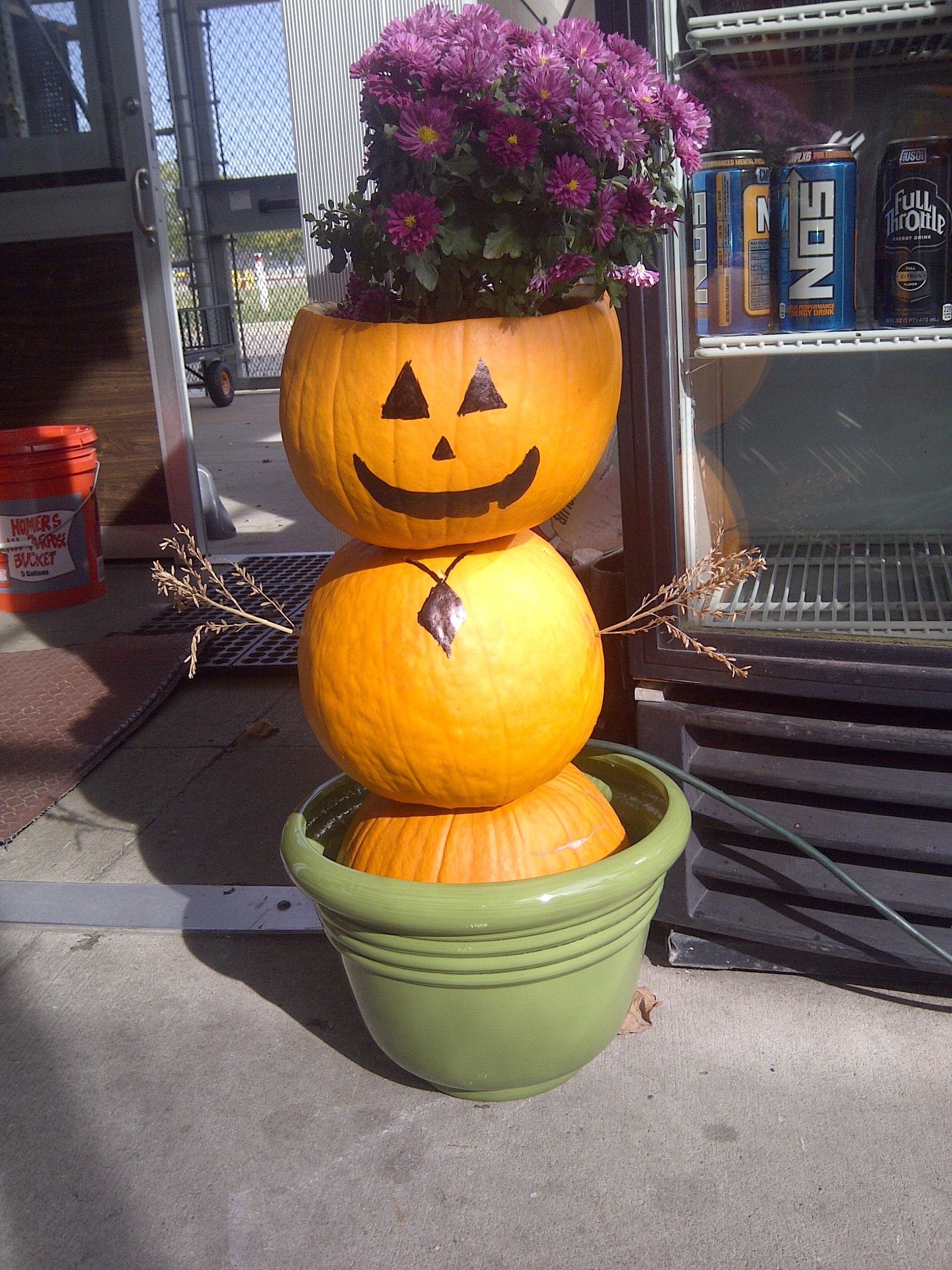 A Mumkin made by some of my associates at the Home Depot