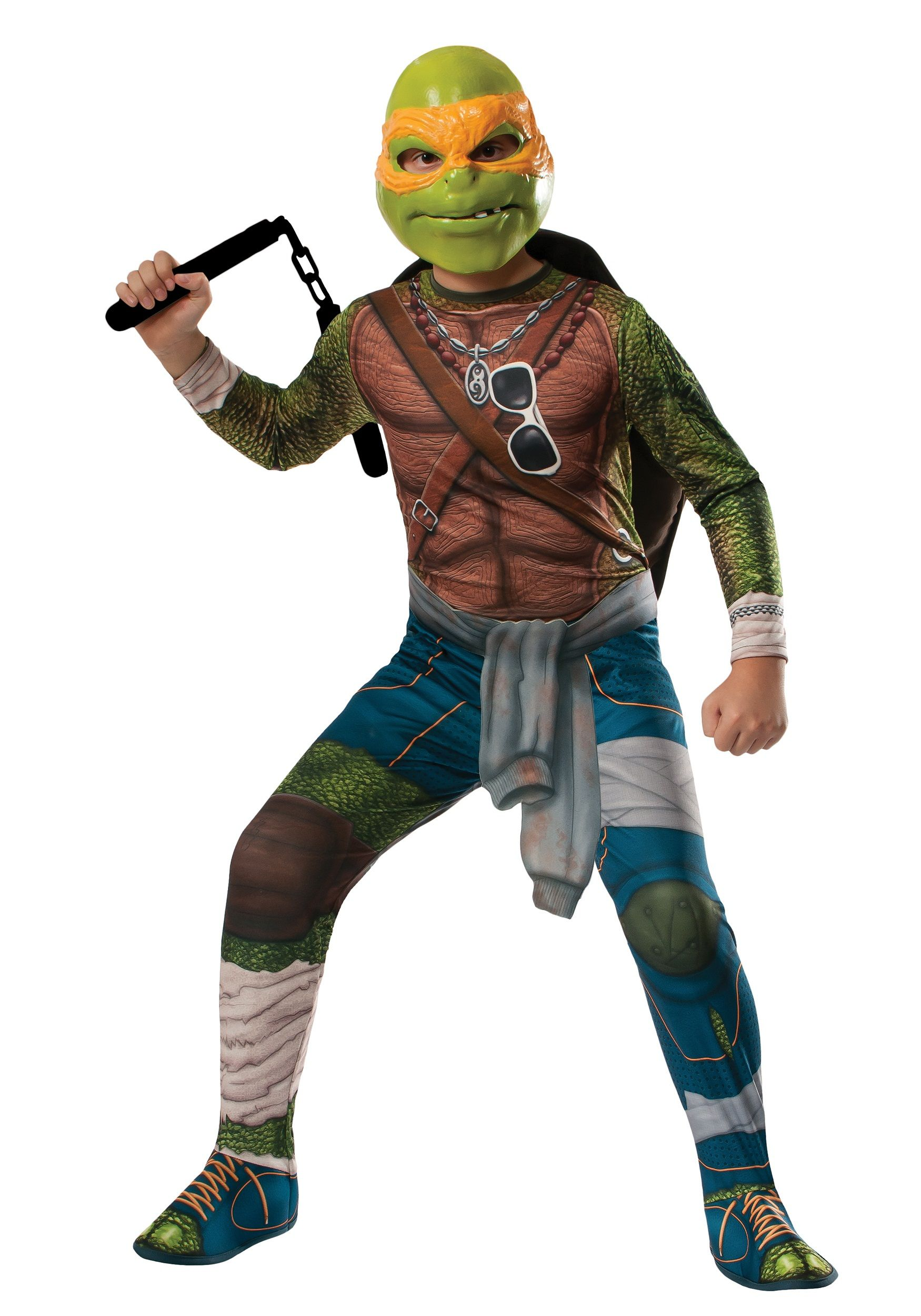 Ninja Turtle Movie Child Michelangelo Costume | Boys Halloween ...