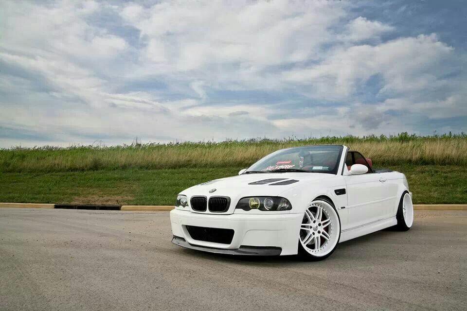 Bmw E46 M3 White Cabrio Bmw Bmw E46 Car Inspiration