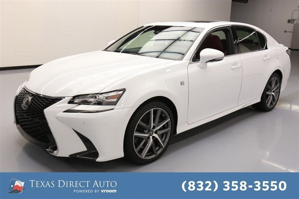 For Sale 2018 Lexus GS FSport 4dr Sedan Texas Direct