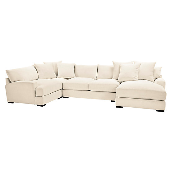Stella Chaise Sectional 4 Pc Stella Adaline Living Room Inspiration Living Room Inspiration Z Galleri Furniture Sectional Affordable Modern Furniture