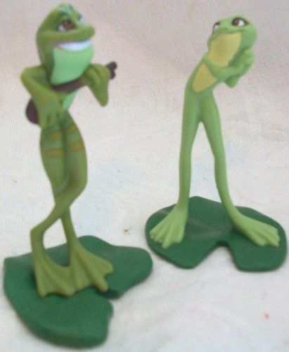 Disney PRINCE NAVEEN as FROG FIGURINE Cake TOPPER Princess /& the FROG Toy NEW
