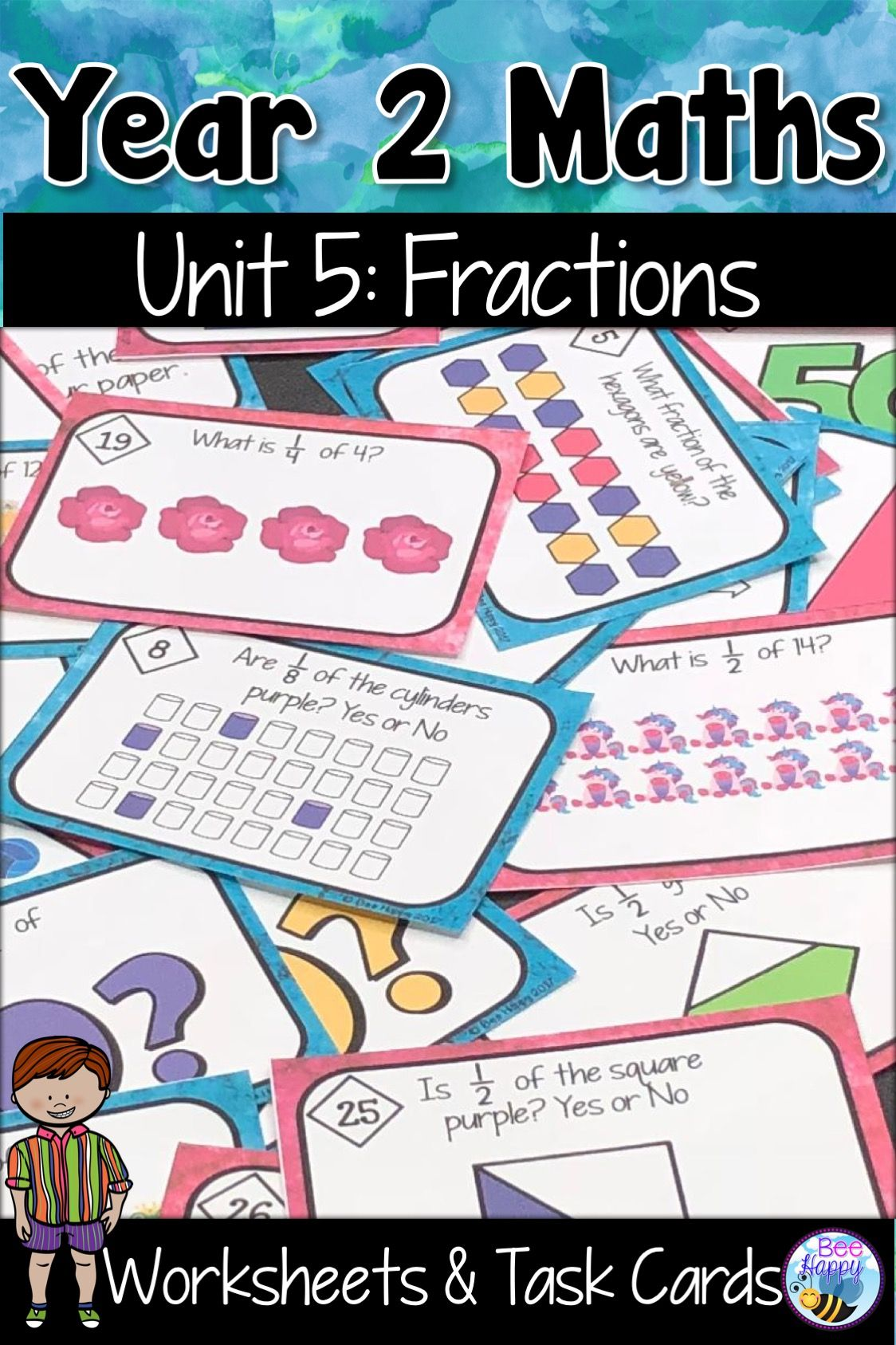 Fractions Worksheet Halves And Quarters
