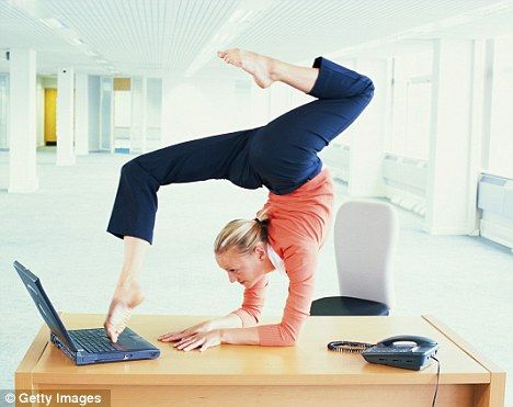 How To Exercise At Your Desk Stay Healthy