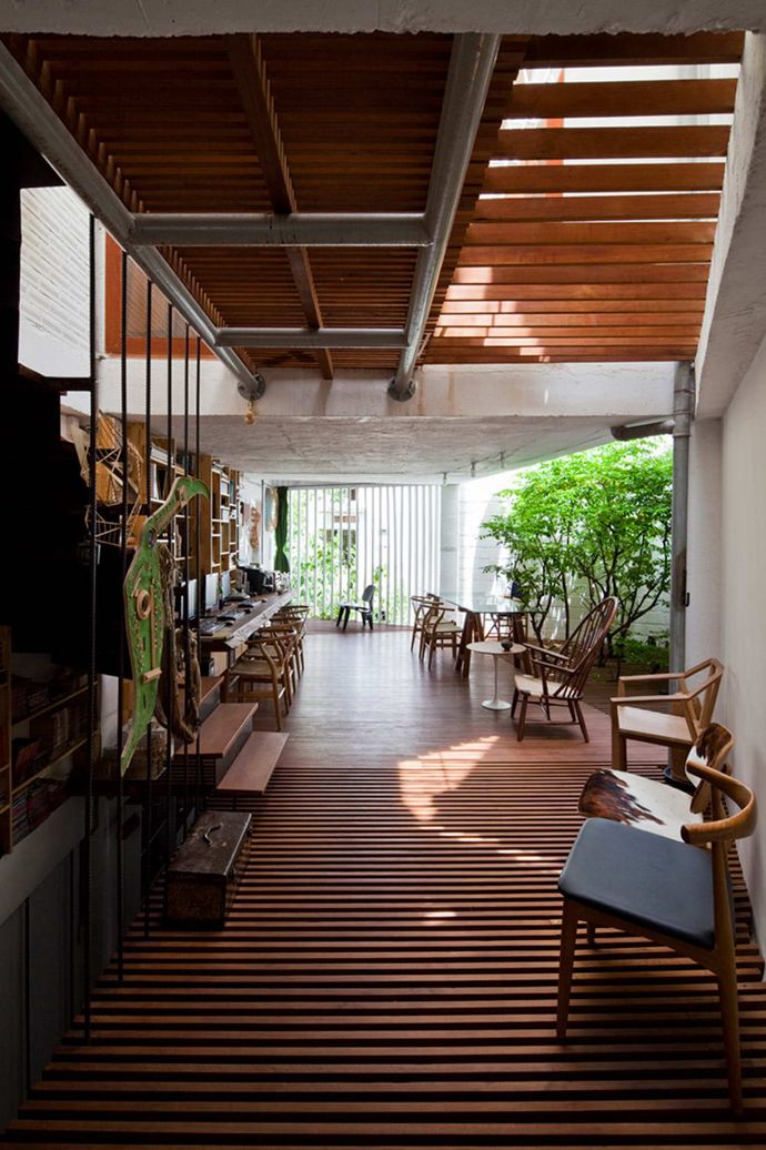 A Beautiful Illuminated House by a21Studio, from Hochiminh, Vietnam