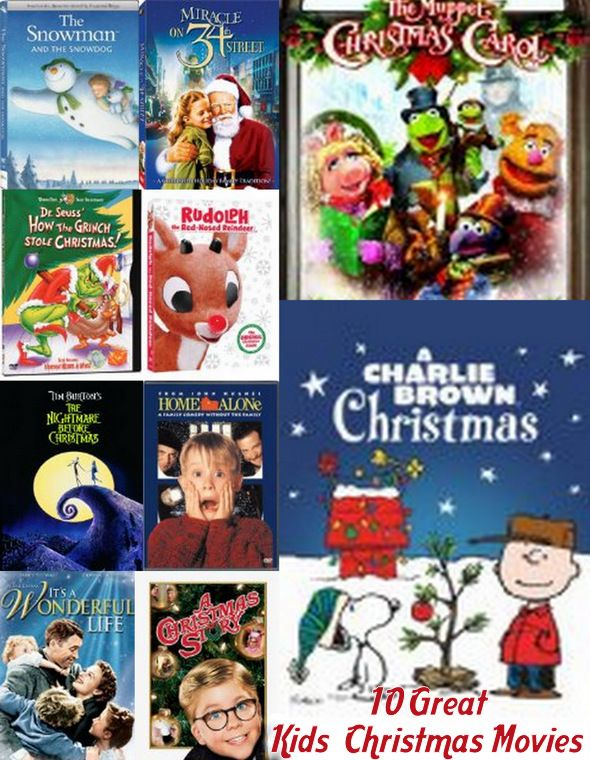 10 Great Christmas Movies For Kids Of All Ages Kids Christmas Movies Christmas Movies Great Christmas Movies