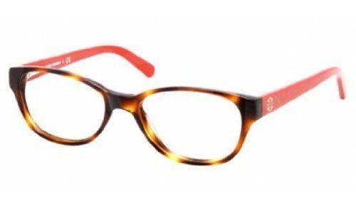 Tory Burch TY2031 Eyeglass Frames 1162-49 - Amber Orange Frame, Demo Lens