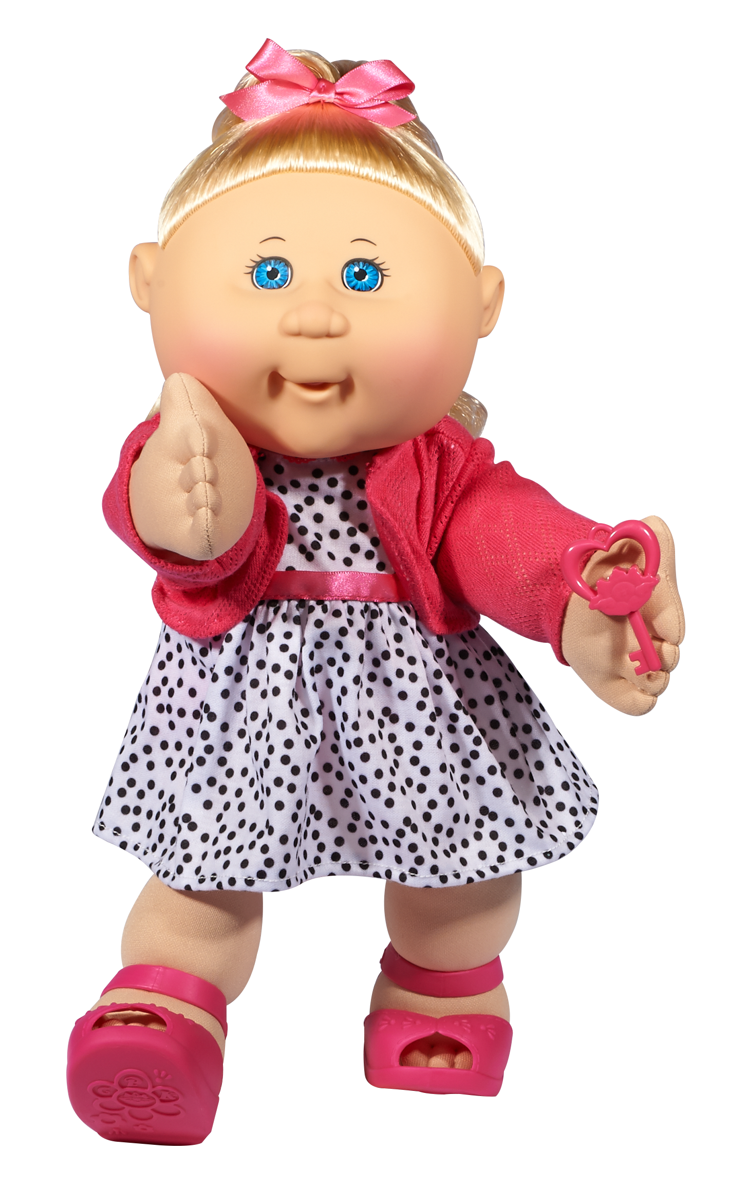 """Cabbage Patch Kids 14"""" Baby Doll Blonde Hair & Blue Eyes"""