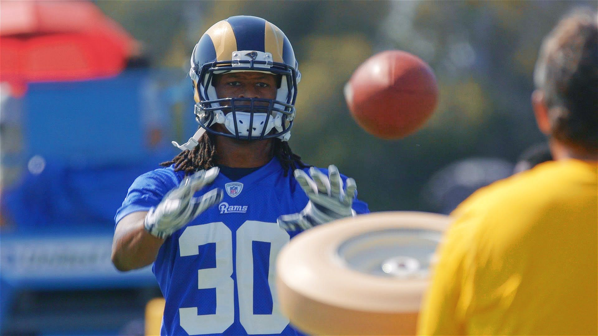 The Los Angeles Rams Held Their 2016 Training Camp At Uc Irvine Irvine Training Camp Athlete