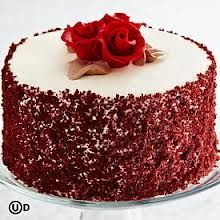 Red Velvet Cake Decoration Red Crumbs Google Search Cake Cake Decorating Cake Competition