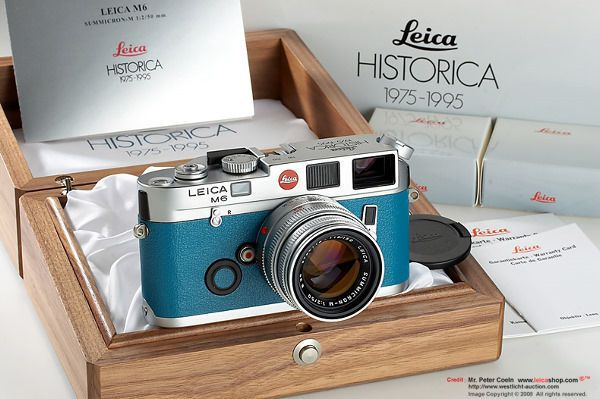 Leica M6 HISTORICA e.V Edition, 1995 for LEICA Historical Society of Germany 20th Anniversary with wooden box and relevant documentations
