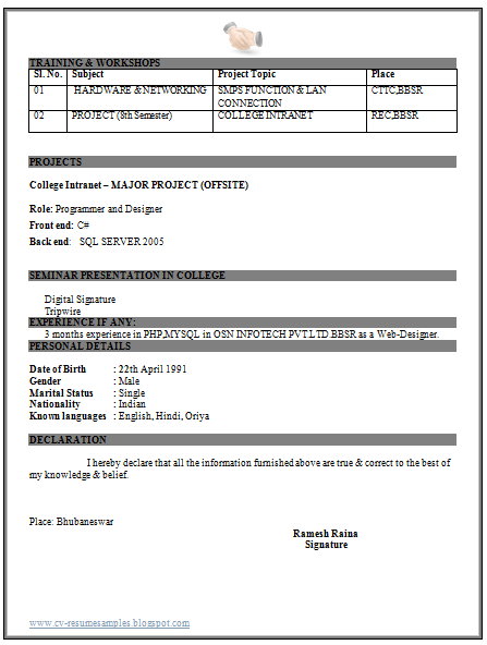 IT+Engineer+Fresher+Resume+(2).png (447×592) | Resume templates ...