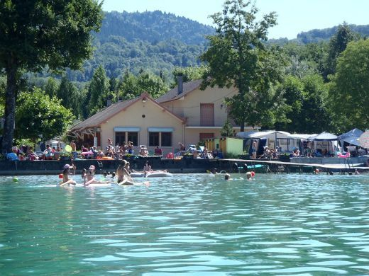 Delightful Camping Lac Du0027Aiguebelette   Savoie   CAMPING Lac Aiguebelette   Pinterest    Camping And France