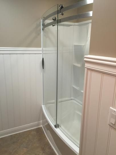 Delta Clic 400 Curve 60 In X 62 Frameless Sliding Tub Door Stainless B55910 6030 Ss At The Home Depot Mobile