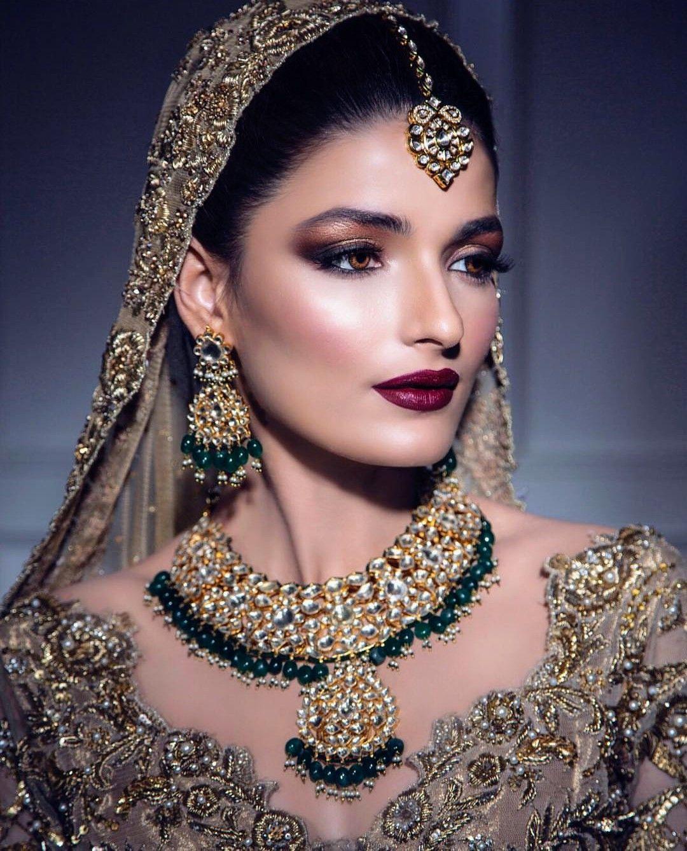 Indian bridal makeup and jewellery Indian bridal makeup