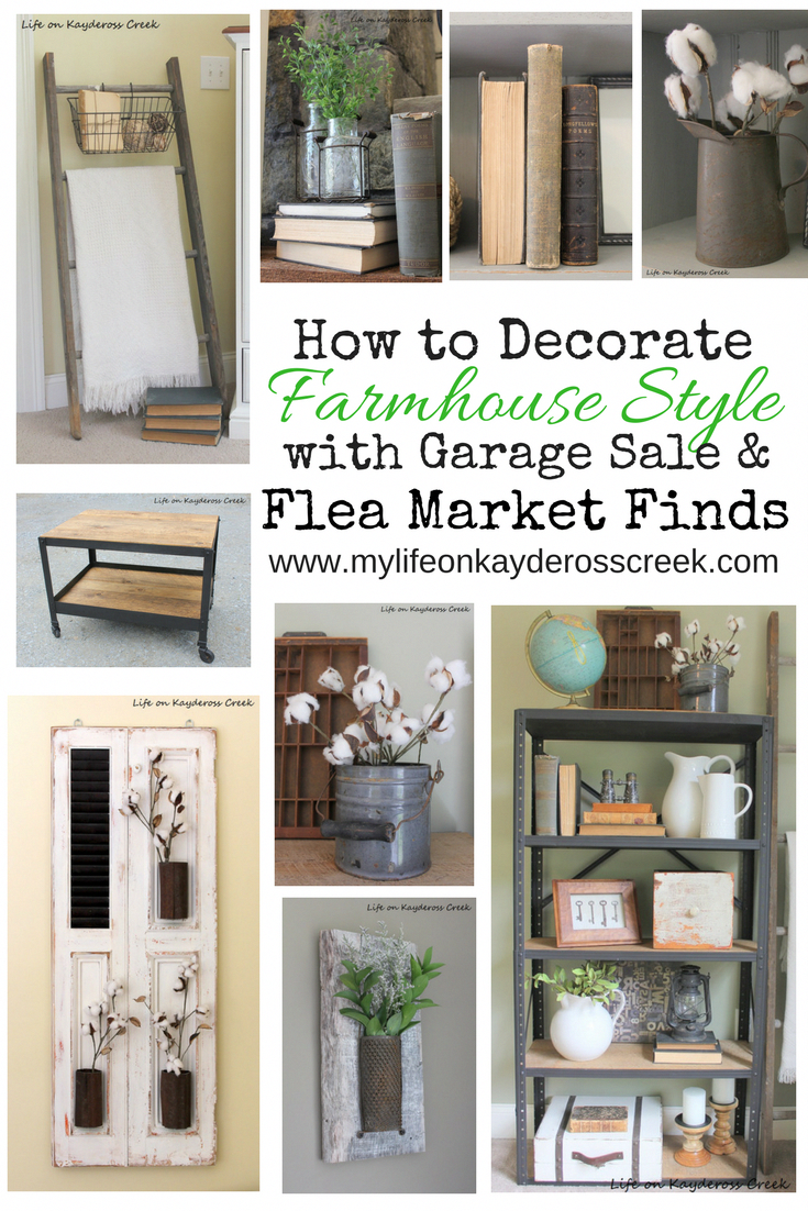 How to add character to your home by decorating with flea market