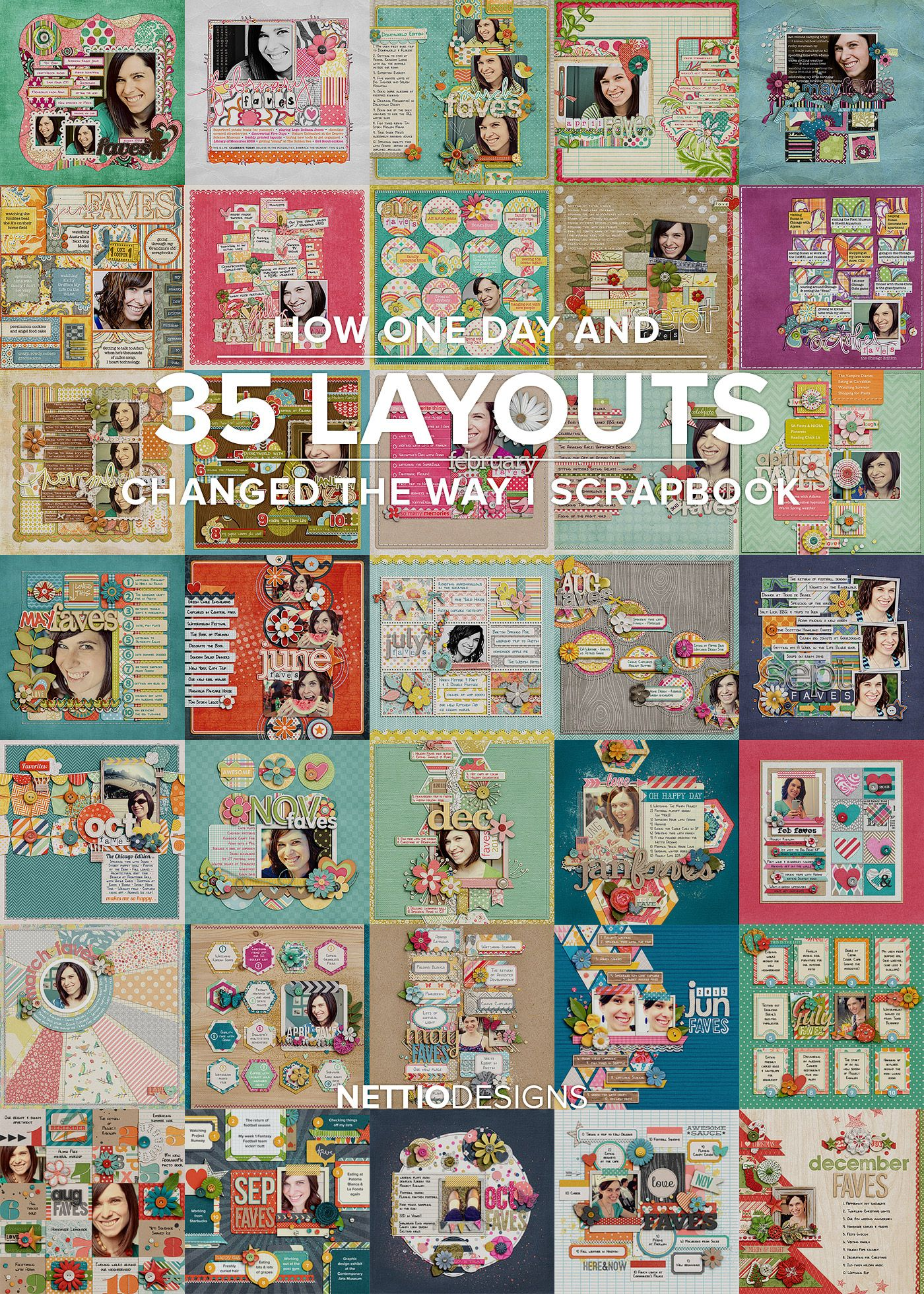 24 Great Picture of Scrapbook Page Ideas Layout in 2020 ...