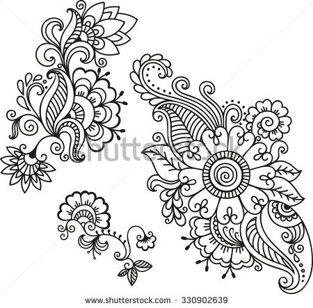 henna tattoo flower template mehndi mehndi indisch henna pinterest mandala t towierung. Black Bedroom Furniture Sets. Home Design Ideas