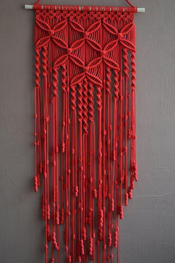K ptal lat a k vetkez re tapices hechos en macrame - Tapices de macrame ...