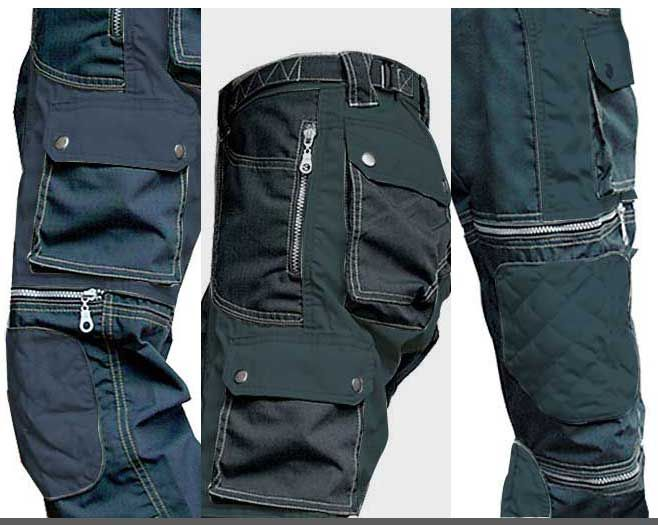 Cyberian warrior pant A so special designer cut. 2 front pockets 2