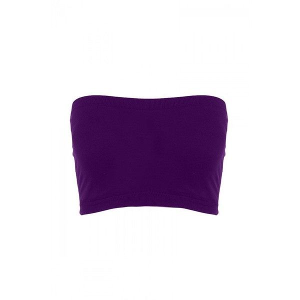 ef9e4f36c57f13 Sugar Lips Seamless Crop Tube Top ( 8) ❤ liked on Polyvore featuring tops