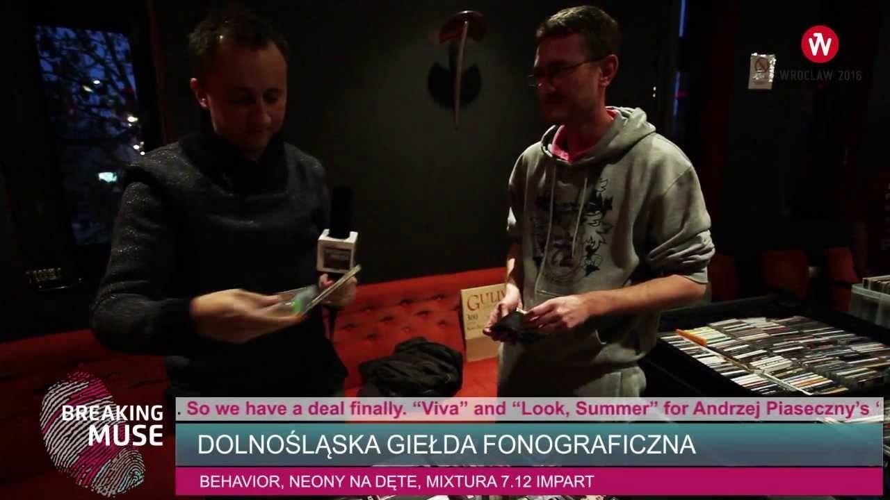 BREAKING MUSE: Dolnośląska Giełda Fonograficzna / Record Exchange #Wroclaw