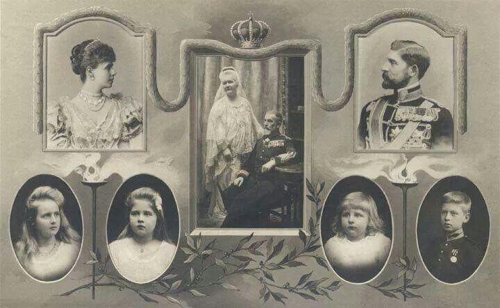 Small family tree of the Romanian royal family   Royalty   Romanian
