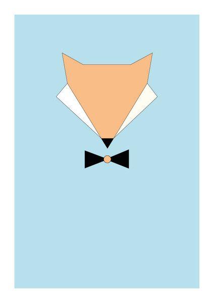Poster Fuchs, Geometrisch Fuchs, Kinderzimmer | Baby | Pinterest ...