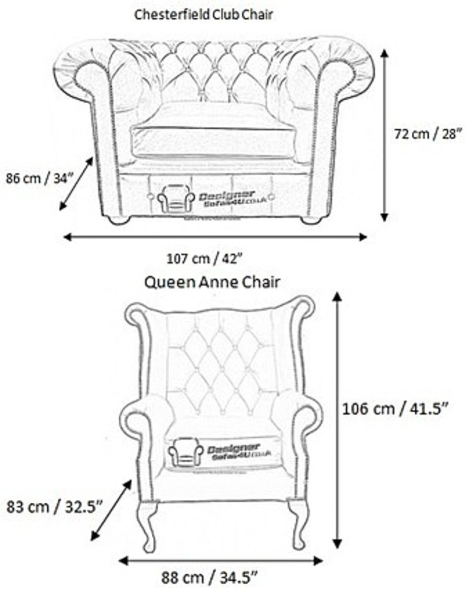Measurements Of Chesterfield Furniture Sofas Chesterfield