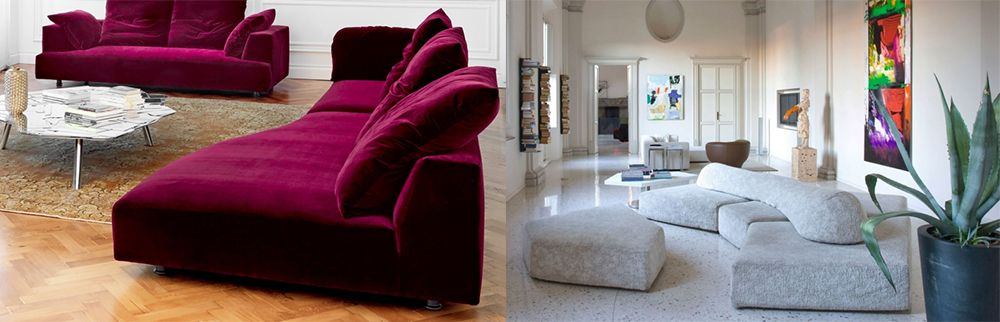 Sofa Trends 2018 und Sofa Design 2018 Komfort feiern Living rooms - wohnzimmer ideen petrol