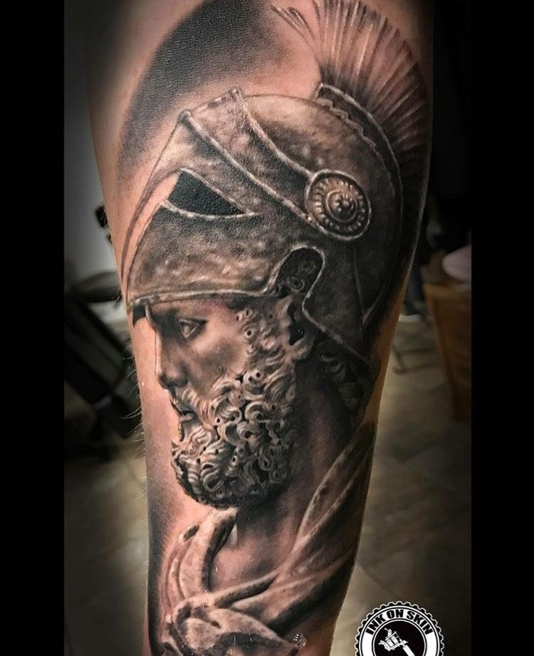 Ares Tattoo Tattoo Mythology Tattoos God Tattoos Greek