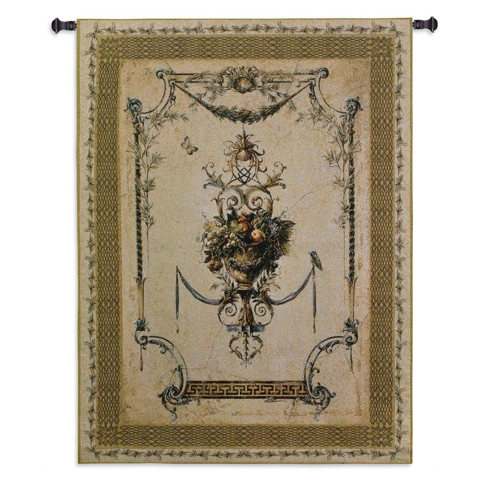 Fine Art Tapestries Summer Harvest Small Wool and Cotton Wall Tapestry - 2244-WH