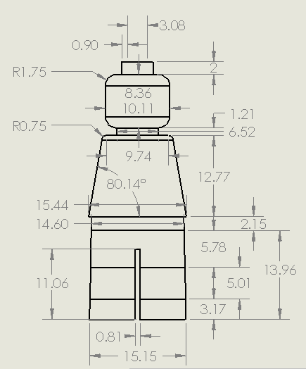 After an infuriating search online for the dimensions of the lego after an infuriating search online for the dimensions of the lego minifig lego man malvernweather Choice Image
