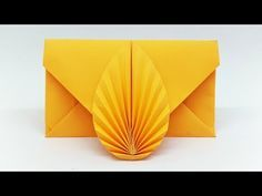 Envelope making with paper without Scissors Glue and Tape – DIY Origami Envelope easy tutorial