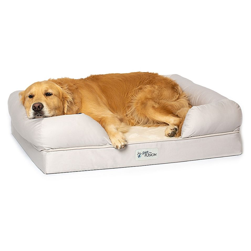 Petfusion Large Ultimate Dog Bed And Lounge In Sandstone Beige